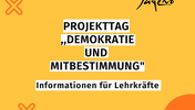 Projekttag für Demokratie und Mitbestimmung