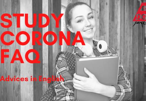 study corona english