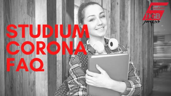 Studium Corona FAQ